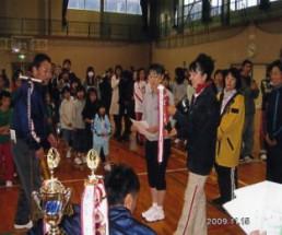 2009年 AFAS CUP 辰野町 社会体育館
